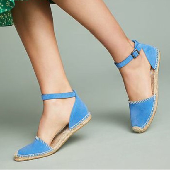 e6889a2f5348 Anthropologie Soludos NEW D Orsay Espadrille Flat